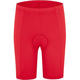 Gonso Fortuna fietsbroek kort Dames rood